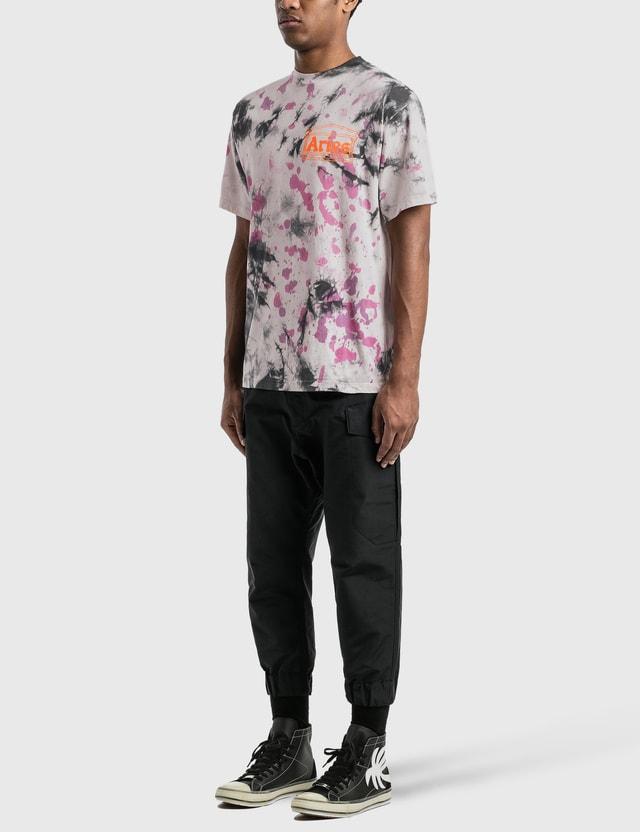 Aries Tie Dye Temple T-Shirt Multicolor Men