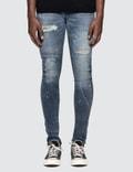 Denim By Vanquish & Fragment Remake Stretch Skinny Denim Jeans Picture