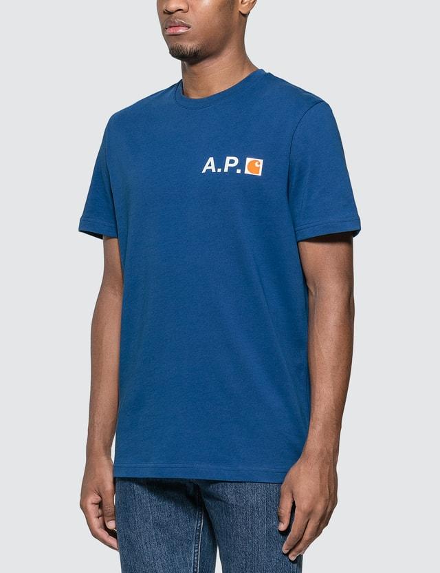 A.P.C. A.P.C. x Carhartt Fire T-Shirt
