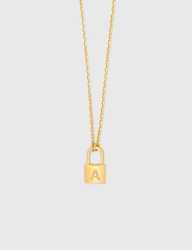 Ambush Ambush P Series Necklace Gold Women