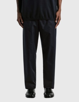 Emporio Armani Organic Cotton Drawstring Pants