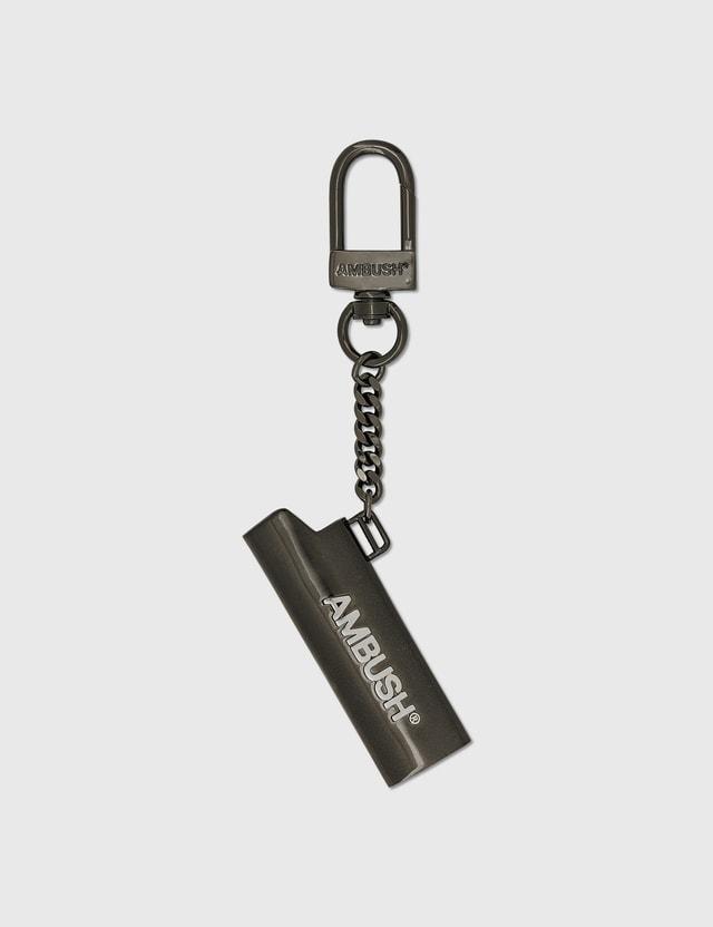 Ambush Log Lighter Keychain Black Men