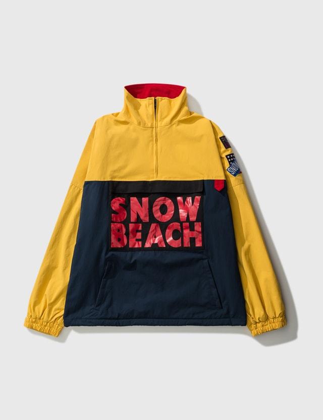 Polo Ralph Lauren Polo Ralph Lauren 'snow Beach' Half Zip Smock Jacket Navy Men