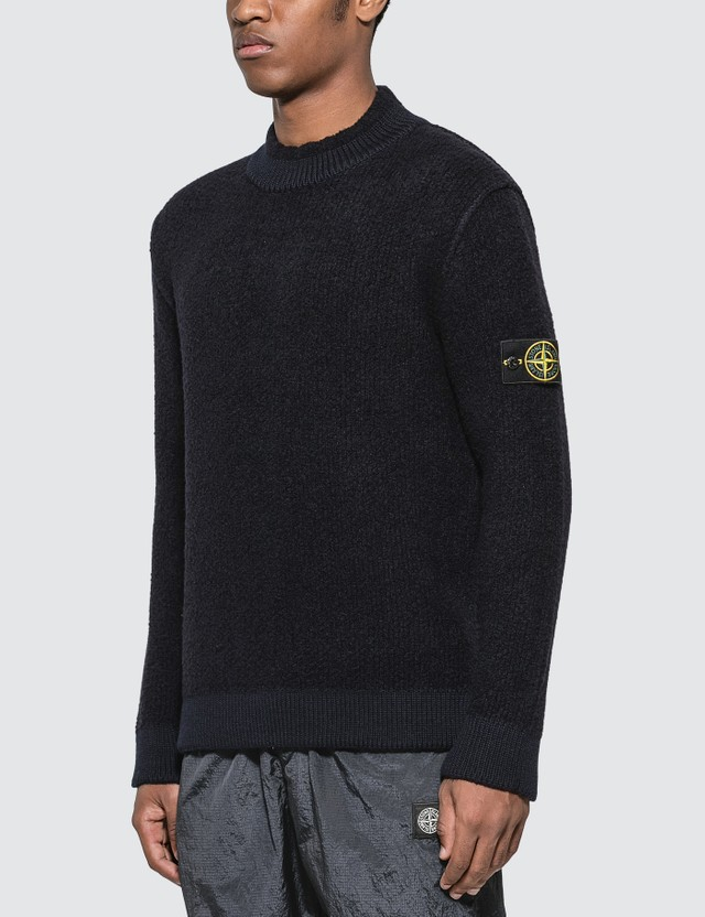 Stone Island Thick Knit Sweater