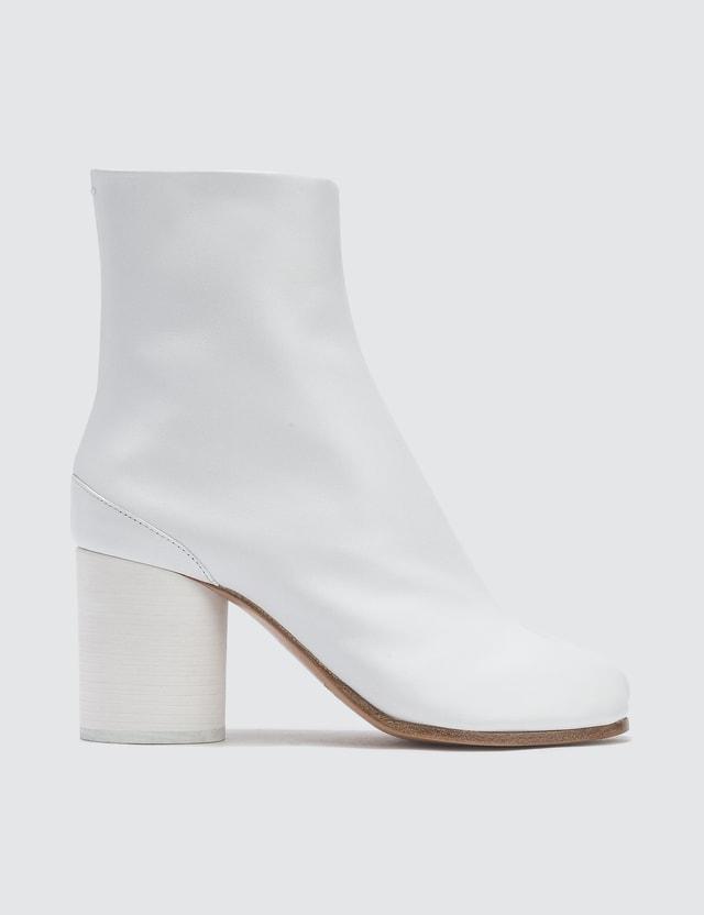 ce977ca17e2 Maison Margiela - Tabi Split-Toe Leather Ankle Boots