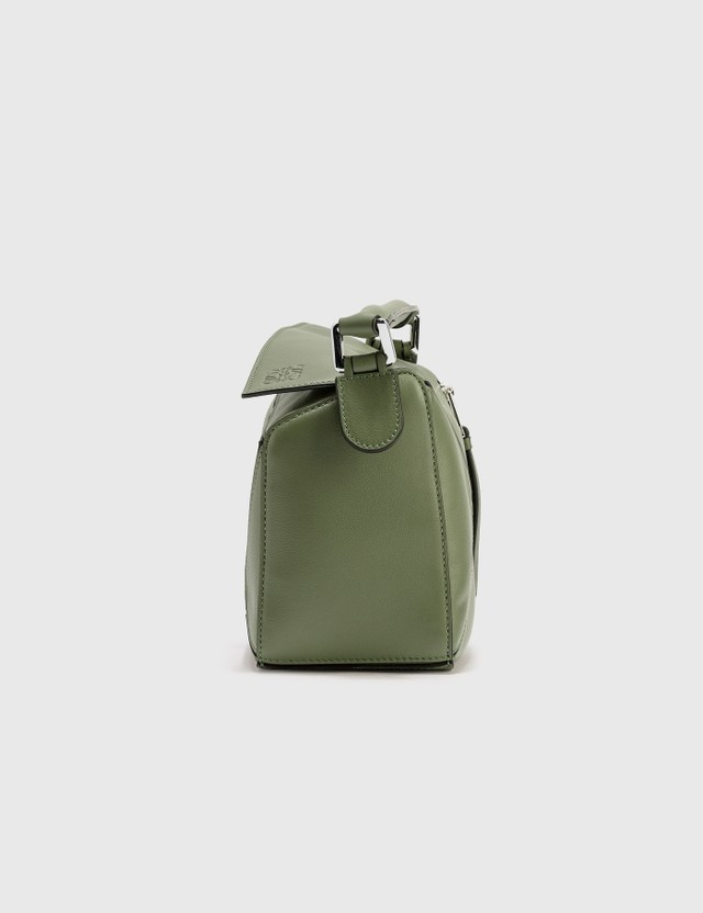 Loewe Small Puzzle Bag Avocado Green Women