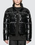 Champion Reverse Weave Nylon Shiny Puff Jacket Picutre