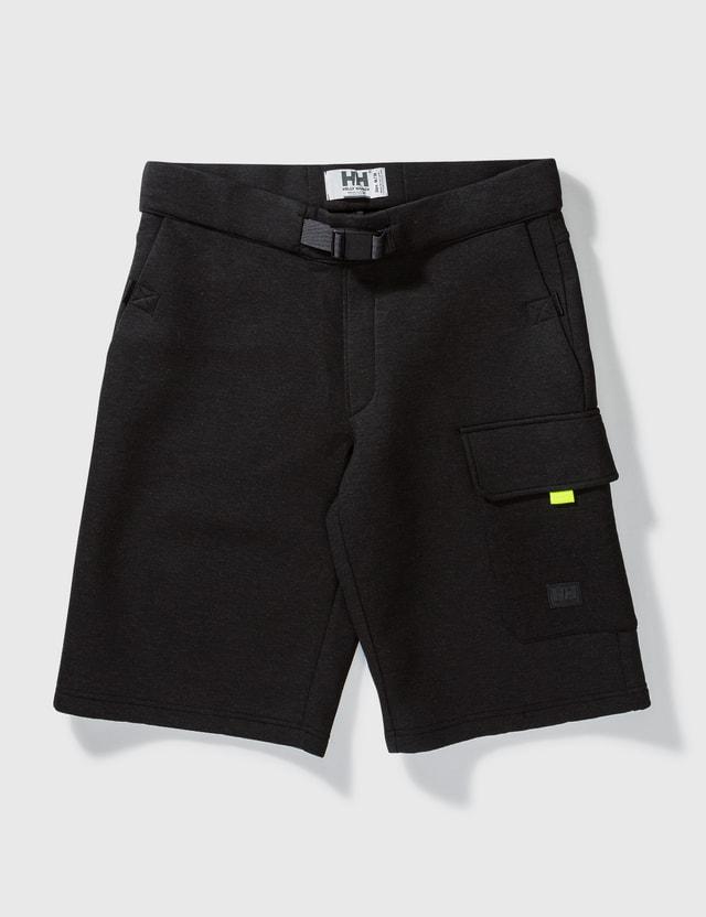 Helly Hansen Ocean Sweat Shorts Ebony Men