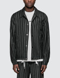 Alexander Wang Logo Wool Jacquard Coaches Jacket Picture