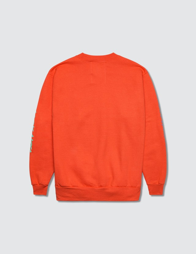 Hey Babe Sweatshirt #2 Orange Kids