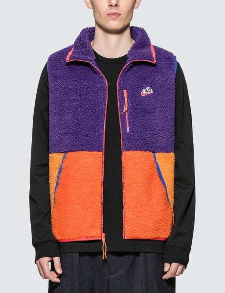 나이키 컬러블록 플리스 조끼 Nike Sportswear Color Blocked Fleece Vest
