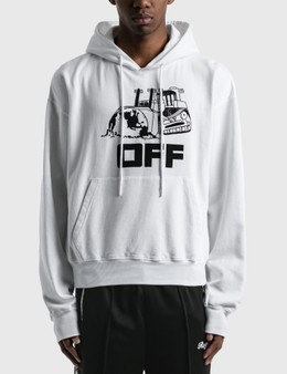 Off-White World Caterpillar Over Hoodie