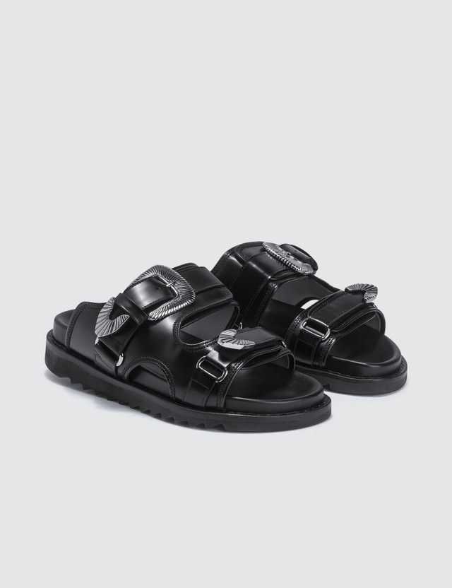 Toga Pulla Strap Leather Sandals