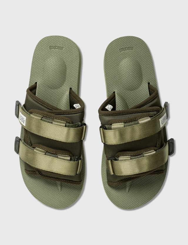 Suicoke MOTO-Cab Sandals Olive Men