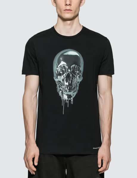 bffe0dc9 Alexander McQueen · Metallic Skull T-shirt