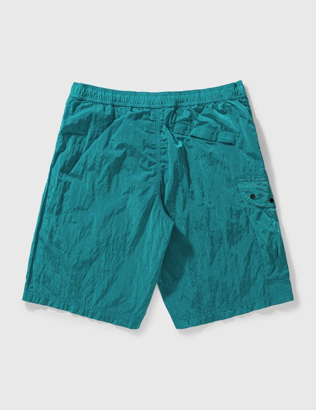 Stone Island Nylon Metal Shorts Turquoise Men