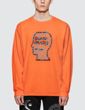 Brain Dead Infected Logo L/S T-Shirt Picture