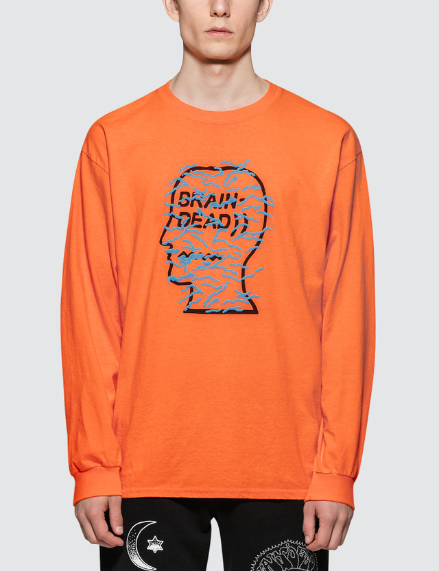 Brain Dead Infected Logo L S T Shirt Hbx