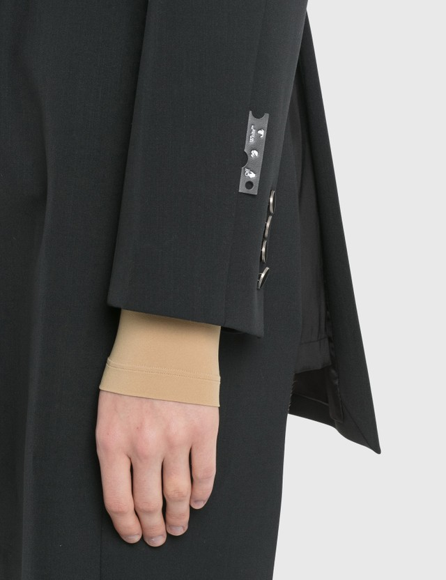 Off-White Logo Curtain Jacket
