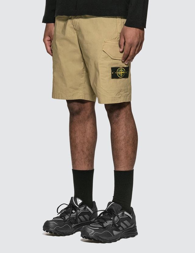 Stone Island Nylon Pocket Shorts