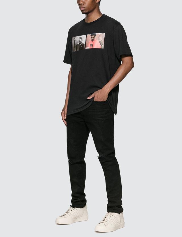 424 리엄 델 티셔츠 Black Men