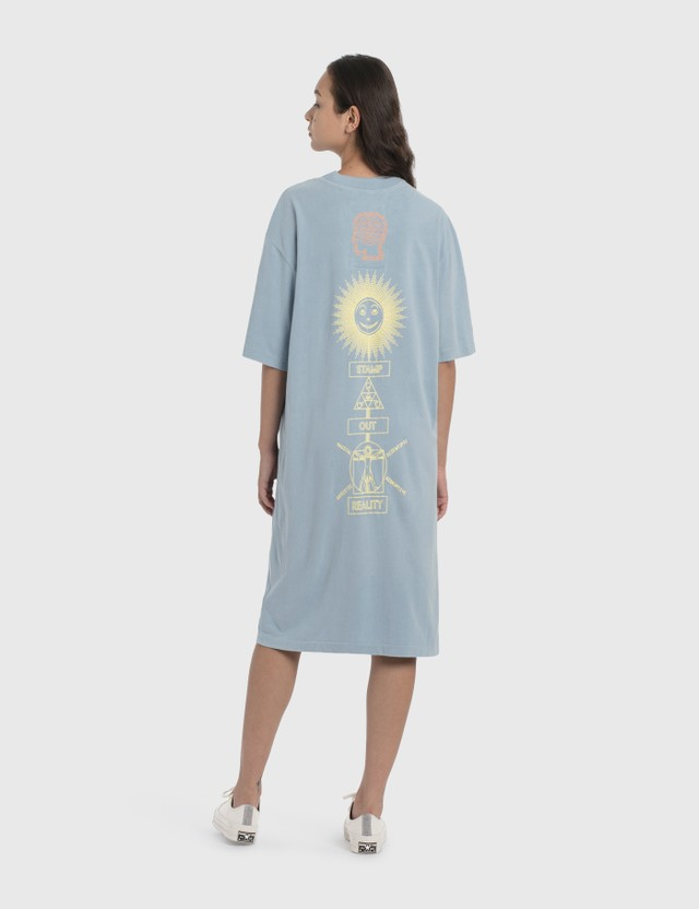 Brain Dead Brain Dead x The North Face T-Shirt Dress Clear Lake Blue Women