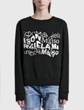 Maison Margiela Distorted Logo Sweatshirt Picture