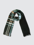 Holzweiler Dipper Check Dip Dye Large Scarf Picture