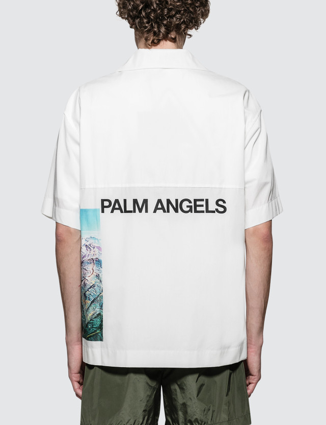 Palm Angels Yosemite Bowling Shirt