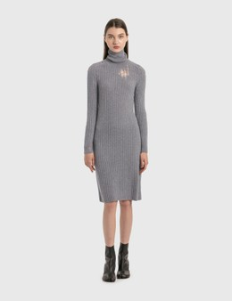 Maison Margiela Roll Neck Knit Dress
