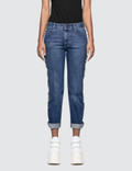 Stella McCartney Straight Jeans With Side Strap Picutre