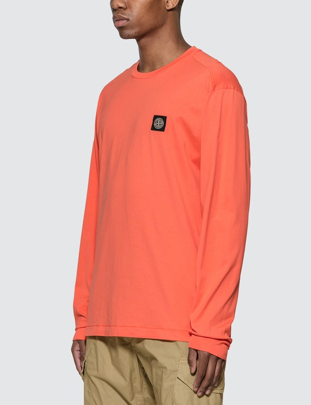 Stone Island Pocket Long Sleeve T-Shirt