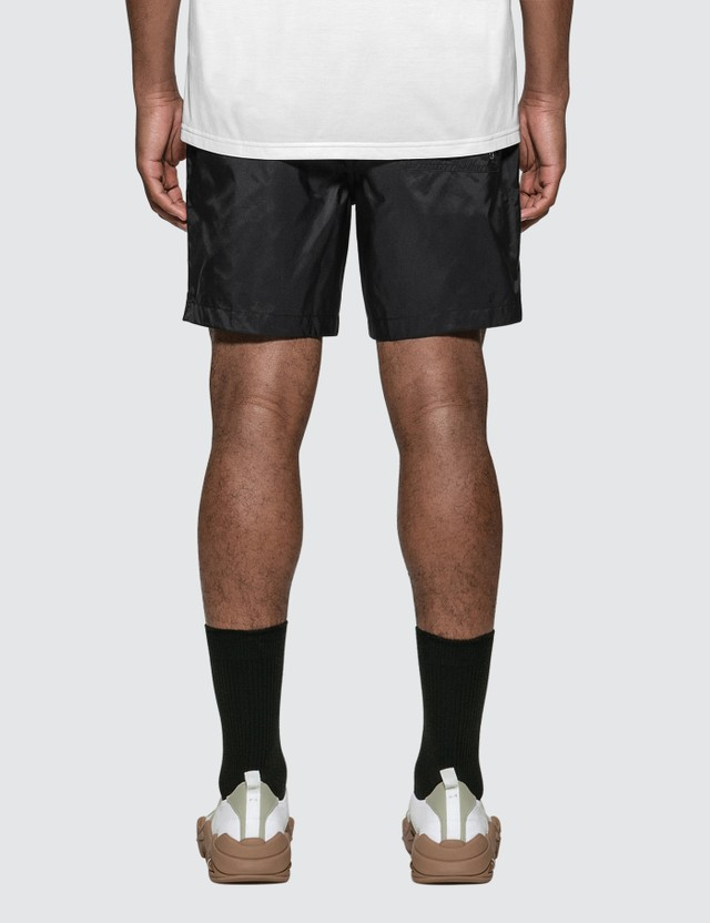 Burberry Logo Appliqué Drawcord Swim Shorts