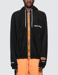 Heron Preston Handle Zip Eggs. Hooded Sweatshirt Picture