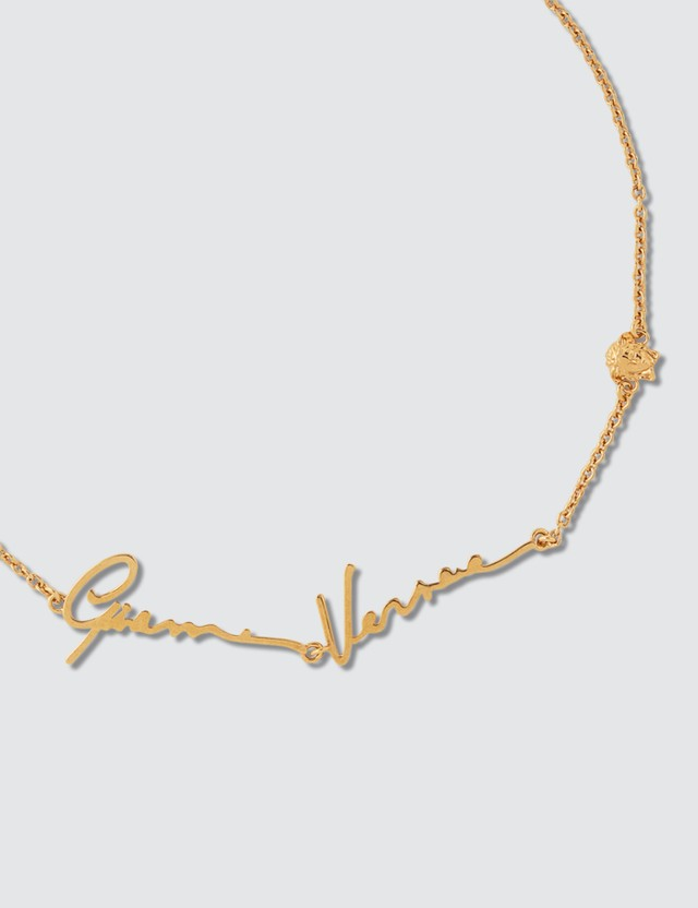 Versace GV Signature Necklace