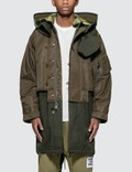 Burberry Nylon Hooded Parka with Detachable Warmer Picture