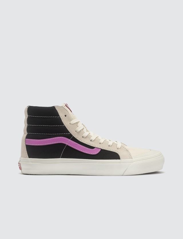 Vans OG Style 138 LX (suede/corduroy/canvas) Whitecap Gray/black/iris Orchid Men
