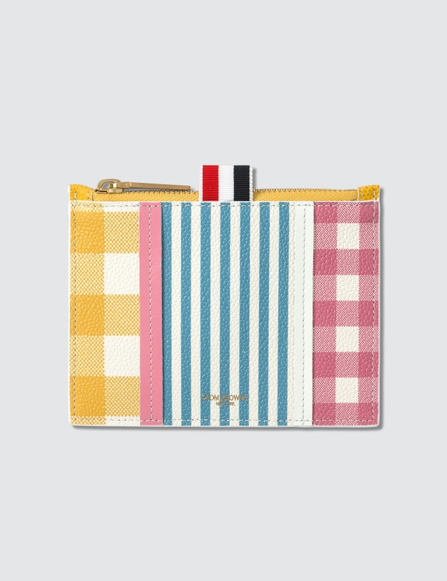 Thom Browne Small Zip Coin Purse