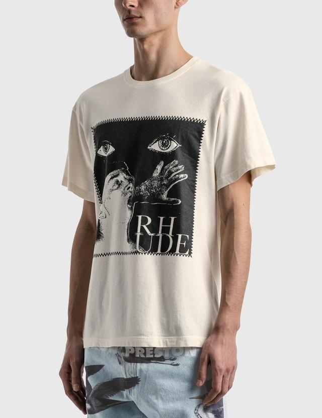 Rhude Post Stamp T-shirt White Men