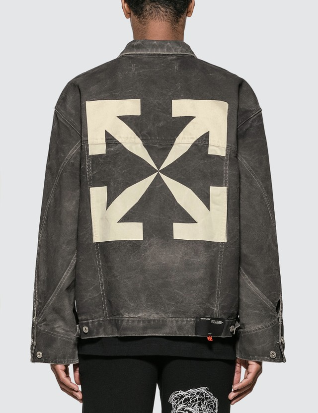 Off-White Arrow Jeans Jacket