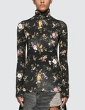 R13 Floral Turtleneck Top Picture