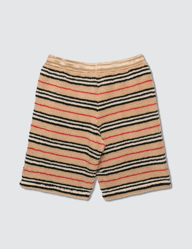 Burberry Icon Stripe Fleece Drawcord Shorts
