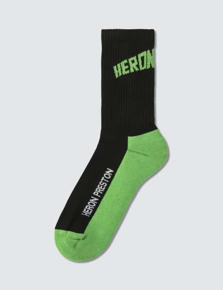 헤론 프레스톤 로고 양말 Heron Preston Logo Socks