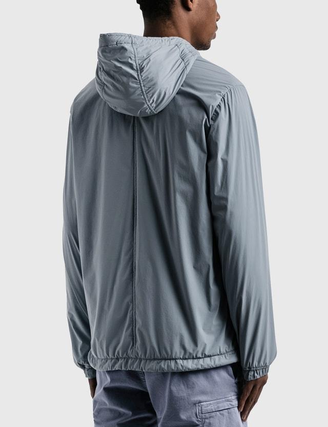 Stone Island Drawstring Hooded Jacket Mid Blue  Men