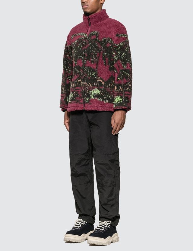 Stussy Hawaiian Jacquard Mock Jacket