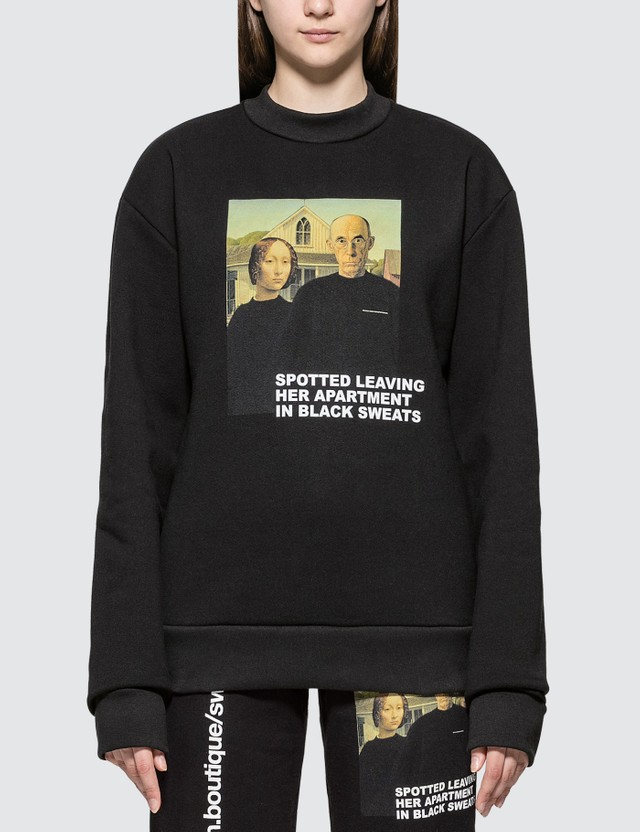Urban Sophistication Spotted Sweatshirt