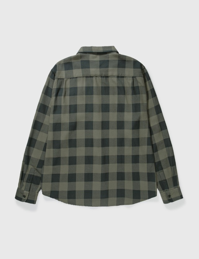 Stussy Venice Plaid Shirt Charcoal Men