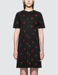 McQ Alexander McQueen Cut Babydoll Dress Picture