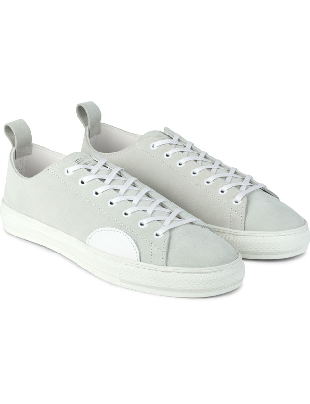"""DELUXE White """"Deluxe X Buddy"""" Sneakers"""