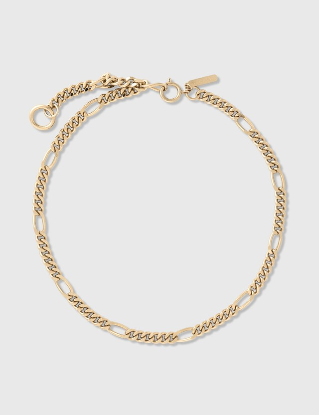 Justine Clenquet Kim Necklace Pale Gold Women
